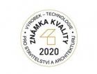 Rating a kvalita stavebních materiálů a prací - Známka kvality 2020