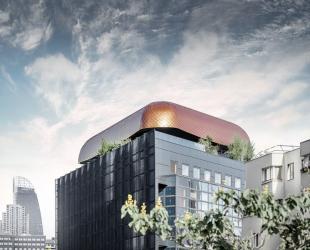 Blackpearl v pařížské čtvrti La Défense (foto: Croce & WIR)