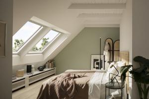 Střešní okno VELUX GLU s horním ovládáním