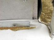 Obr. 14: Mechanicky kotvená přítlačná lišta u ukončení hydroizolace na svislé konstrukci