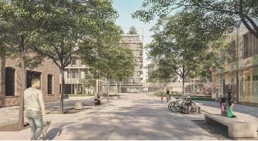 Vítězný návrh v soutěži Multi-Komfortní dům Saint-Gobain - odpočinková zóna