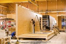 Prvky byly vyrobeny pomocí nového systému TW-Mill E a následně sestaveny do modulů (foto Fotostudio Rene Paulweber)