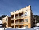 Hotel Tirol Lodge postavený z modulů EGGER