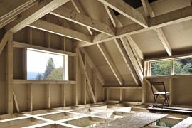 Stavební řešení podkroví