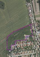 Líchy - vyznačená plocha pro výstavbu
