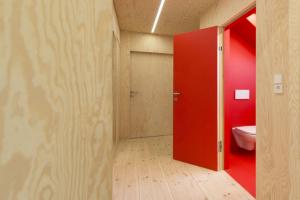 Barevné řešení koupelny