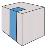 Obr. 1: Umístění atria vzhledem k budově