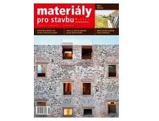 Materiály pro stavbu 1/2021