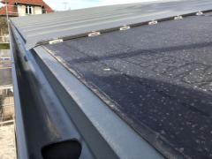 DELTA-THERM v ploše při pokládce falcované hliníkové krytiny