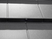 Jednotlivé šablony se kotví přišroubováním TORX šroubem s EPDM podložkou do čela latí