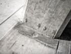 Rustikální otisk v betonu