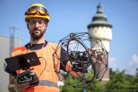 Dron je připraven odhalit a zdokumentovat i nejmenší závady