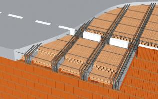 Řešení minimalizující vznik tepelných mostů mezi stropními vložkami MIAKO