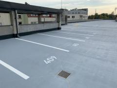 Odvodnění parkovacího domu a autobusového terminálu v Benešově