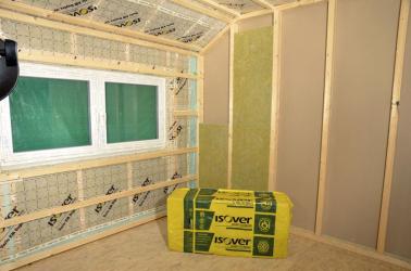 Materiálem ISOVER Woodsil zateplíme obvodové stěny i příčky