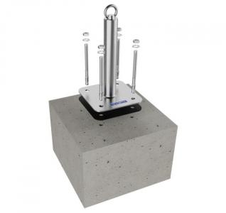 Ukázka z montážního návodu do betonu značky ROOFIX