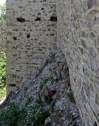 Obr. 8 Parkánová zeď u SV nároží po rekonstrukci