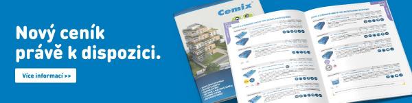 Nový ceník a novinky značky Cemix v roce 2021