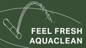 Feel Fresh: AquaClean – Cítit se svěže: AquaClean