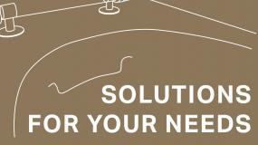 Solutions for Your Needs – Řešení pro vaše potřeby