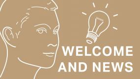 Welcome and News – Přivítání a novinky