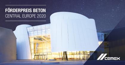 CEMEX Förderpreis Beton Central Europe 2020