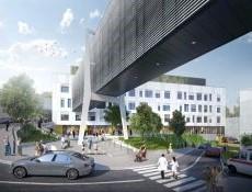 Nový pavilon nemocnice v Pelhřimově