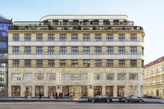 Palác Dunaj prochází v současné době kompletní rekonstrukcí. Objekt byl na rohu Národní a Voršilské ulice na Novém Městě v Praze postaven v roce 1930. Budovu ve stylu konstruktivismu navrhl pro pražské zastoupení rakouské pojišťovny Donau německý architekt Adolf Foehr, žák Jana Kotěry