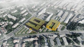 Revitalizace areálu bývalých kasáren, Brno - Židenice