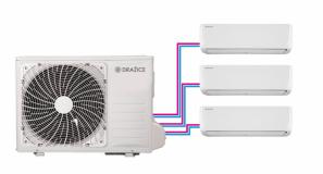 Klimatizace AIR PLUS typu multisplit - 3 vnitřní jednotky