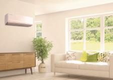 Klimatizace AIR26 typu split v interiéru