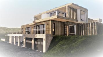 Dům jako součást krajiny, soutěžící HARFEN ateliér