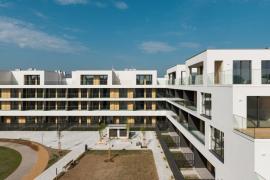Vítěz kategorie Bytový dům - Murgle Apartments, Slovinsko