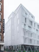 Vítěz kategorie Struktura podporuje design - Rue Curial, Francie