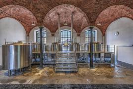 Hlavní varny kamenického pivovaru (foto: Pivovar Kamenice)