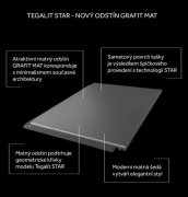 Tegalit STAR grafit mat (zdroj: BRAMAC)