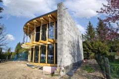 Rodinný dům postavený komplet z tvarovek Liapor včetně obvodových stěn a vnitřních příček