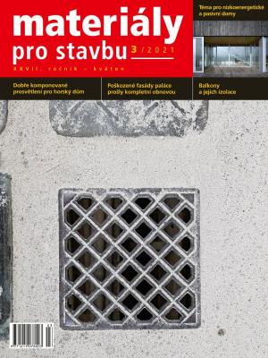 Materiály pro stavbu 3/2021