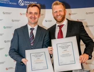 Ze šestice vítězů jsou dvě firmy ze stavebnictví: Ing. Jan Fiala, Cihelna Štěrboholy a Pavel Chýle, stavebniny Delfy s.r.o.