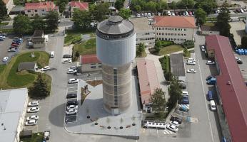 Unikátní věžový vodojem se proměnil ve Věž budoucnosti