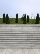 Kvalitní zeď zamezí nechtěným pohledům, ale poskytne i žádoucí zvukovou izolaci (zdroj: Presbeton)