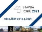 Stavba roku 2021 - přihlášky otevřené pouze do 10. června