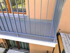 Obr. 11: Celkový pohled na balkon po dokončení všech prací