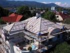 Rekonštrukcia strechy historickej vily v Martine