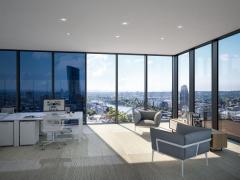 Schüco SageGlass: dynamické samozatmavovací sklo pro okna a fasády Schüco, vytvořené ve spolupráci s firmou Saint-Gobain (zdroj: Schüco)
