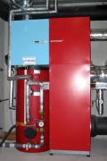 Kompaktní jednotka velice efektivně využívá spojení větrací jednotky a miniaturního tepelného čerpadla, které využívá odpadní vzduch z rekuperačního výměníku. Vyrobené teplo lze využít jak pro vytápění, tak pro ohřev teplé vody. Vhodným doplňkem jsou solární kolektory nebo fotovoltaika