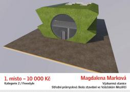 Freestyle - 1. místo: Magdalena Marková