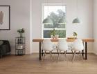 Dřevěné dekory podlah z kolekce KPP HOME XL přimějí pokleknout i znalce