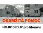 Cihly HELUZ budou postiženým na Moravě dodávány okamžitě