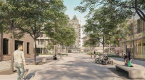 Vítězný návrh - pěší zóna